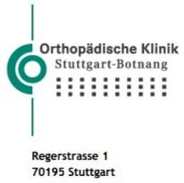 Orthopädische Klinik Stuttgart-Botnang