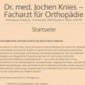 Dr. med. Jochen Knies Facharzt für Orthopädie